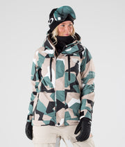 Fawk W Ski Jacket Atlantic Camo