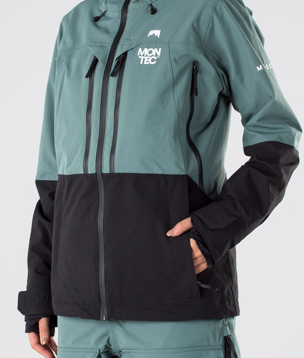Moss Ski Jacket Atlantic/Black