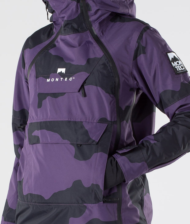 Doom W Ski Jacket Grape Camo