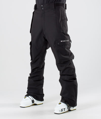 Doom Ski Pants Black