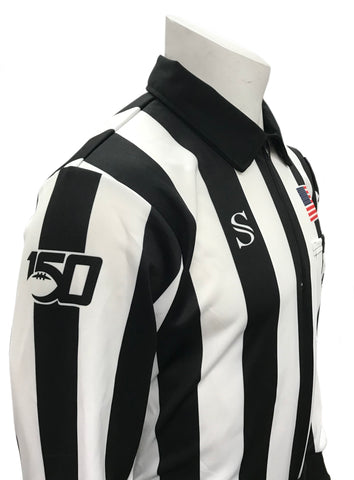 "USA116CFO-150 - Smitty ""Made in USA Dye-Sublimated"" - ""150 ANNIVERSARY"" CFO Football Long Sleeve Shirt"