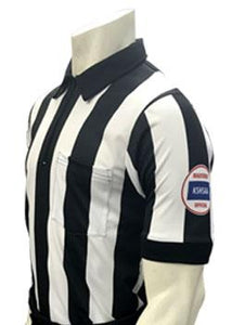 "USA137KS-607-WF - Smitty ""Made in USA"" - ""BODY FLEX"" Football Men's Short Sleeve Shirt"