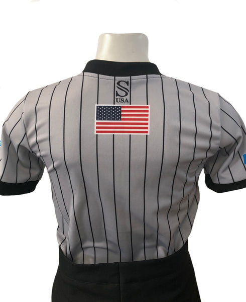 "USA215FL - Smitty ""Made in USA"" - Women's Short Sleeve Shirt"