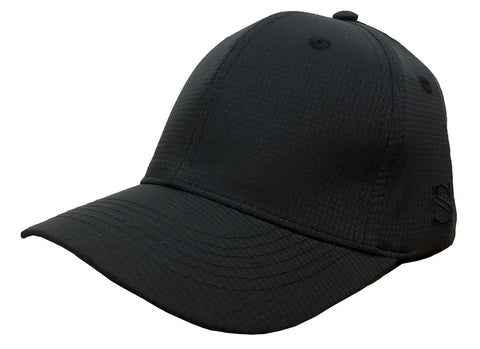 *NEW* HT316 - Smitty - 6 Stitch Performance Flex Fit Umpire Hat - Available in Black or Navy