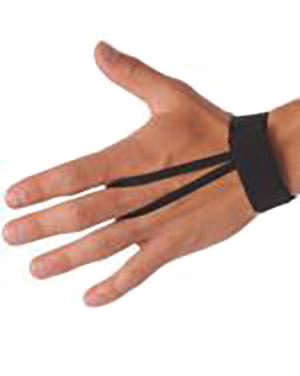 ACS508-Elastic Wrist Down Indicator - Available in Black, Pink or White