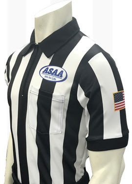 "USA117AK-607 - Smitty ""Made in USA"" - Alaska Football ""BODY FLEX"" Men's Short Sleeve Shirt"