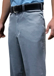 "BBS397 - Smitty ""4-Way Stretch"" Flat Front Combo Pants - Heather Grey"