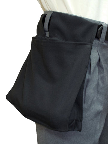 BBS383-Smitty Deluxe Ball Bag w/ Expandable Insert - Available in 4 colors - Black, Navy, Charcoal & Heather Grey