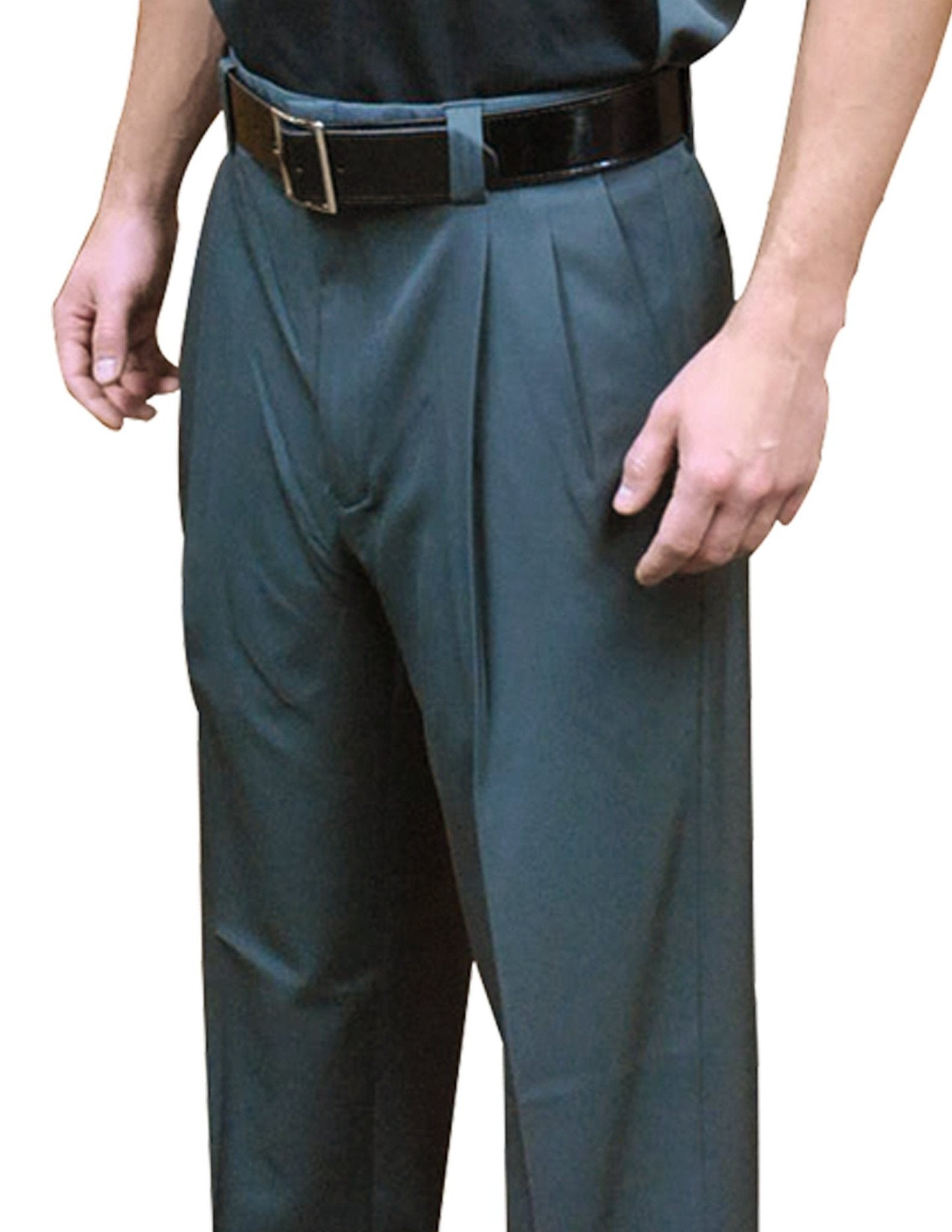 "BBS390-Smitty ""4-Way Stretch"" Pleated Base Pants-Charcoal Grey"