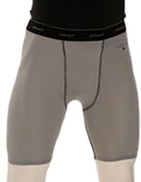 BBS415-Smitty Grey Compression Shorts w/ Cup Pocket