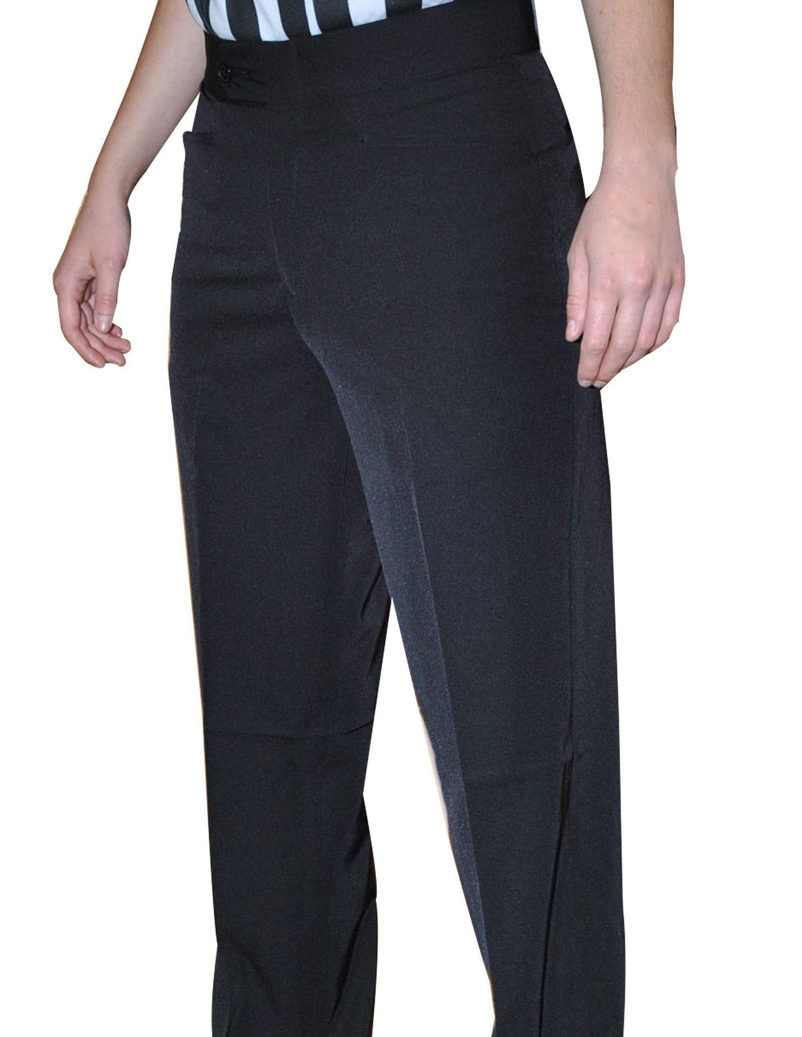 BKS276-Smitty Women's 100% Polyester Flat Front Pants w/ Western Cut Pockets