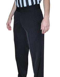 BKS288-Smitty Womens' 4-Way Stretch Flat Front w/ Slash Pockets
