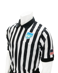 "USA100FL-607 ""BODY FLEX"" - Smitty ""Made in USA"" - Football/Lacrosse Men's Short Sleeve Shirt"