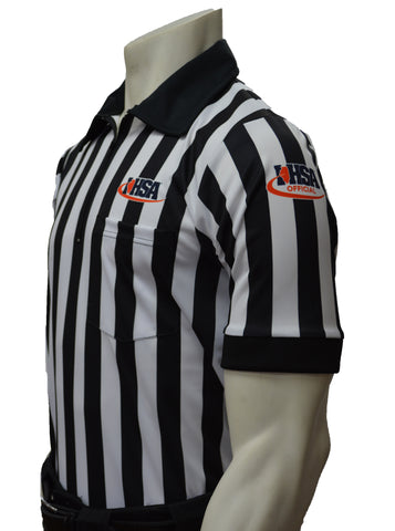 "USA100IL-607 ""BODY FLEX""  - Smitty ""Made in USA"" - Football Men's Short Sleeve Shirt"