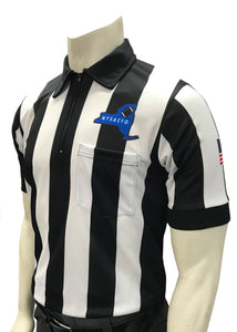 "USA109NY-607 - Smitty ""Made in USA"" - ""BODY FLEX"" Football Short Sleeve Shirt w/ Logo Over Pocket"