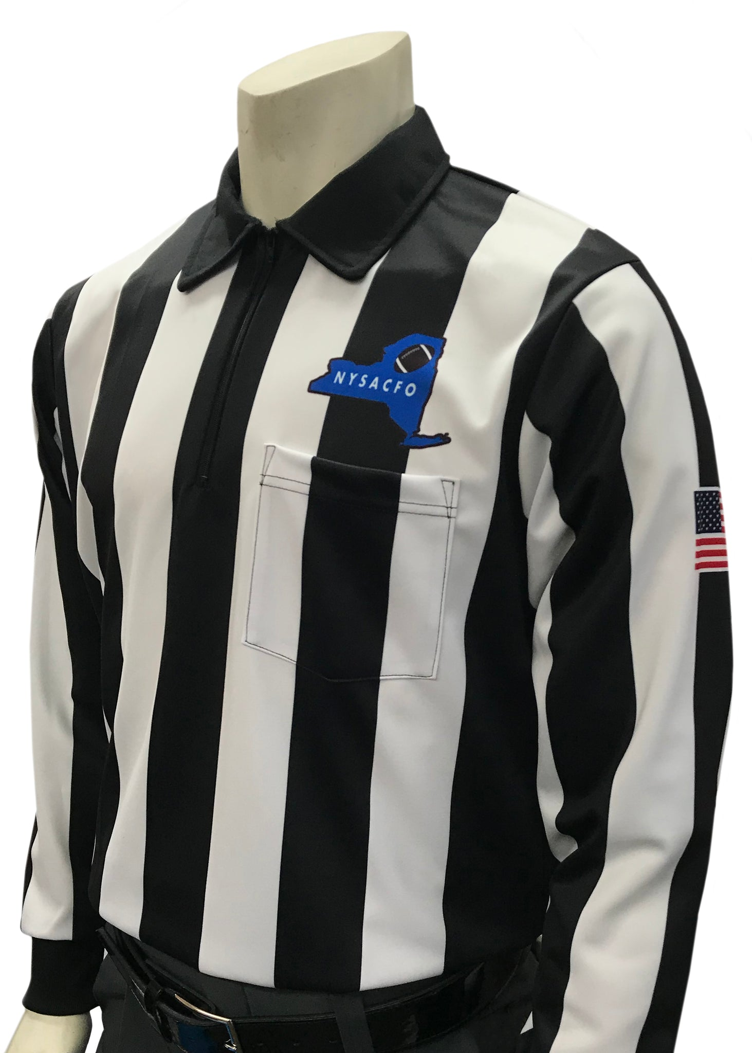 "USA129NY - Smitty ""Made in USA"" -  Dye Sub Cold Weather Football Shirt"