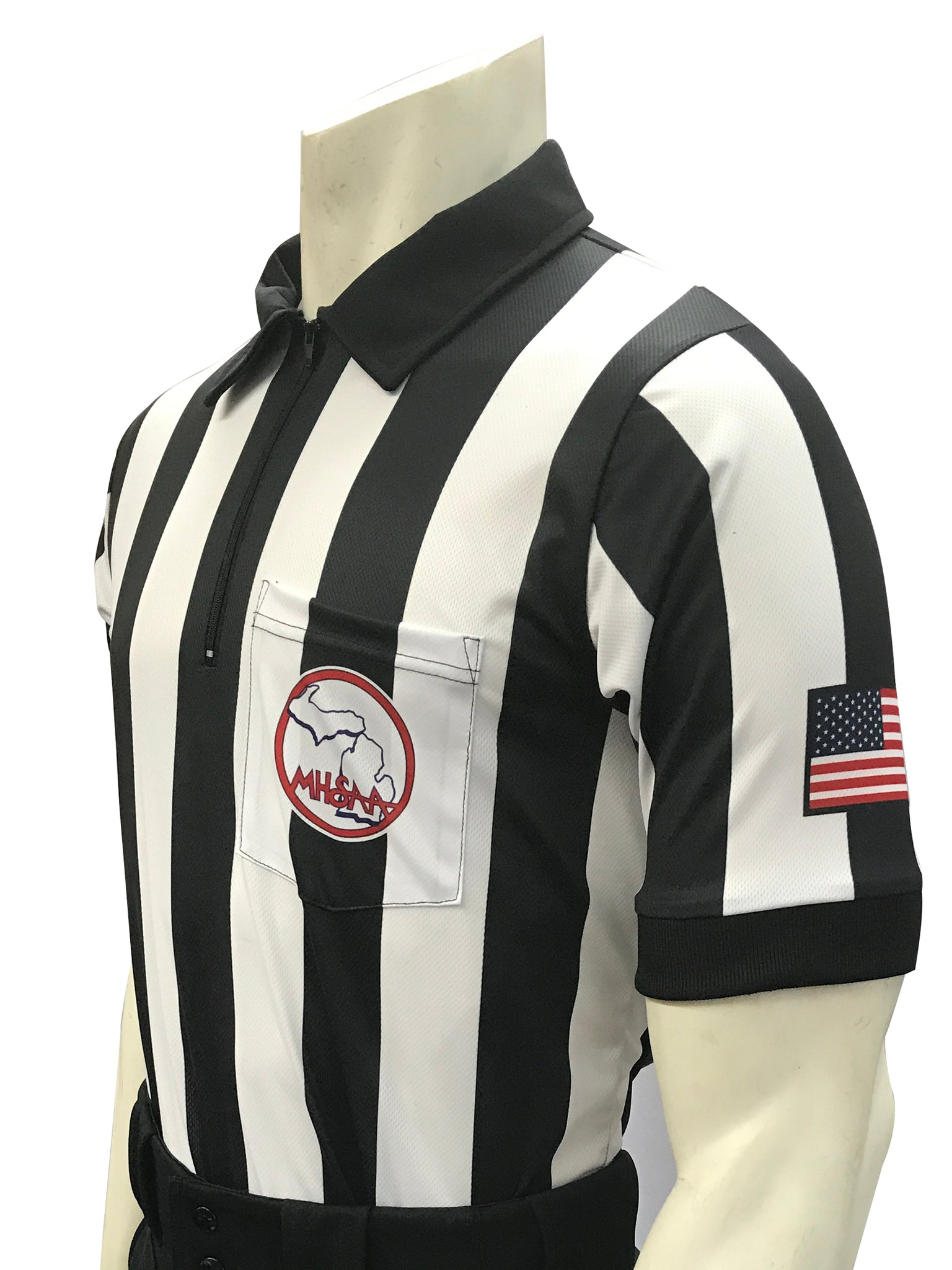 "USA117MI-607 - Smitty ""Made in USA"" - ""BODY FLEX"" Football Men's Short Sleeve Shirt"