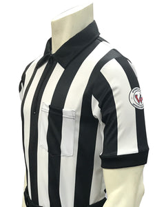 "USA117WY-607 - Smitty ""Made in USA"" - ""BODY FLEX"" Football Men's Short Sleeve Shirt"