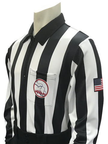 "USA118MI - Smitty ""Made in USA"" - Football Men's Long Sleeve Shirt"