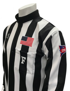 "USA129CFO - NEW STYLE - Smitty ""Made in USA Dye-Sublimated"" - Dye Sub CFO Cold Weather Football Shirt"