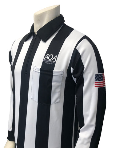 "USA131AR - Smitty ""Made in USA"" - ""AOA"" Long Sleeve Football Shirt"