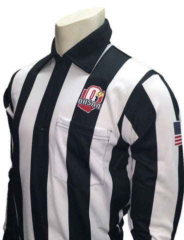 "USA131 OH - Smitty ""Made in USA"" - ""OHSAA"" Long Sleeve Football Shirt"