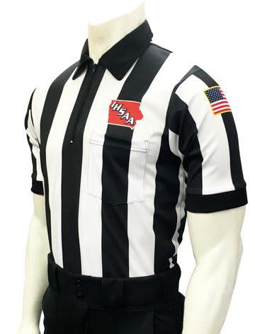 "USA137IA-607 - Smitty ""Made in USA"" - Short Sleeve ""BODY FLEX"" Football Shirt 2.25 Stripe"
