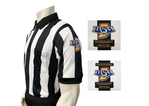 "USA137IN-607 - Smitty ""Made in USA"" - ""BODY FLEX"" ""IHSAA"" Short Sleeve Football Shirt"