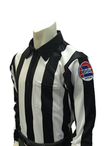 "USA730MO - Smitty ""Made in USA"" - Dye Sub Missouri Football Foul Weather Water Resistant Long Sleeve Shirt"
