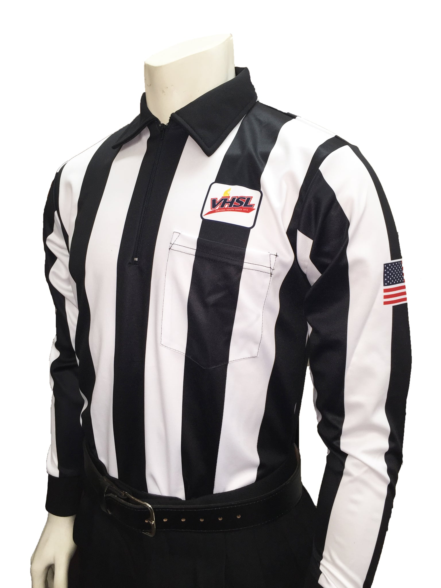 "USA730VA - Smitty ""Made in USA"" - Football Men's Cold Weather Long Sleeve Shirt"