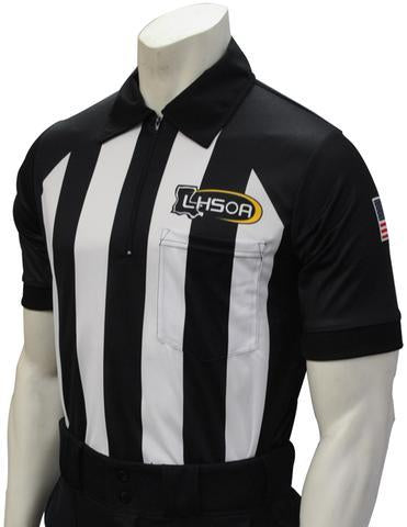 "USA155LA-607 - Smitty ""Made in USA"" - ""BODY FLEX"" Football Short Sleeve Shirt"