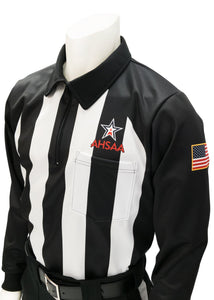 "USA730AL - Smitty ""Made in USA"" - Dye Sub Alabama Foul Weather Water Resistant Football Long Sleeve Shirt"