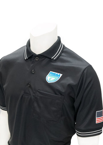 "USA300FL - Smitty ""Made in USA"" - Baseball Men's Short Sleeve Shirt Black"