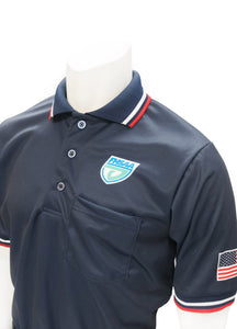 "USA300FL - Smitty ""Made in USA"" - Baseball Men's Short Sleeve Shirt Navy"