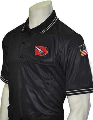 "USA300IA - Smitty ""Made in USA"" - Short Sleeve Ump Shirt Black"
