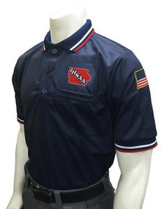 "USA300IA - Smitty ""Made in USA"" - Short Sleeve Ump Shirt Navy"