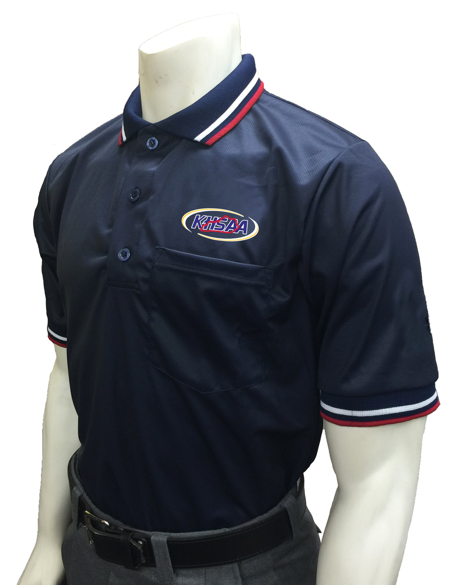 "USA300KY - Smitty ""Made in USA"" - Baseball Men's Short Sleeve Shirt Navy"