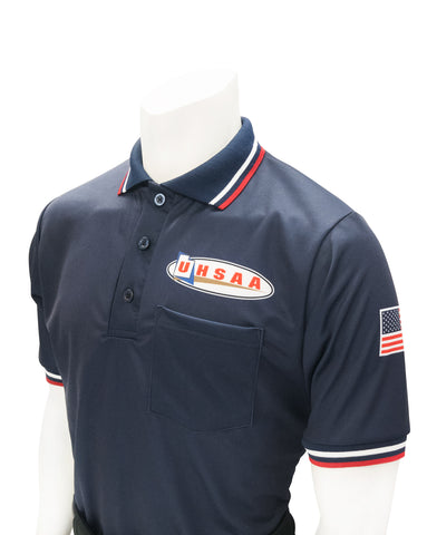 "USA300UT - Smitty ""Made in USA"" - Ump Shirt Logo Above Pocket Navy"