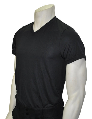 "USA409 - Smitty ""Made in USA"" - Black V-Neck Loose Fit T-shirt"