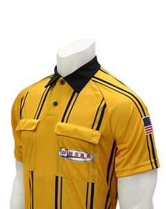 "USA900UT - Smitty ""Made in USA"" - Dye Sub Gold Soccer Short Sleeve Shirt"