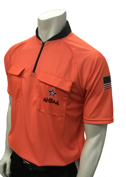 "USA900AL - Smitty ""Made in USA"" - Dye Sub Alabama Soccer Short Sleeve Shirt Available In Orange and Green"