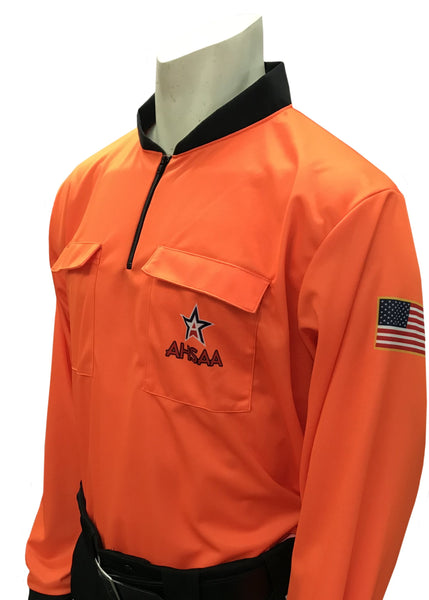 "USA901AL - Smitty ""Made in USA"" - Dye Sub Alabama Soccer Long Sleeve Shirt Available In Orange and Green"