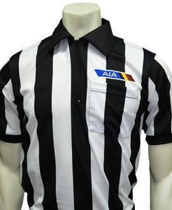 "USA141AZ-607 - Smitty ""Made in USA"" - Football ""BODY FLEX"" Men's Short Sleeve Shirt - Position Letter, No Flag"