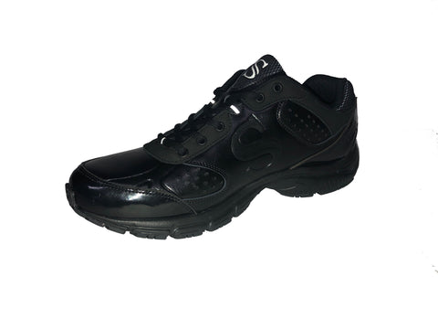 BKS-SC1 - Smitty All-Black Court Shoe