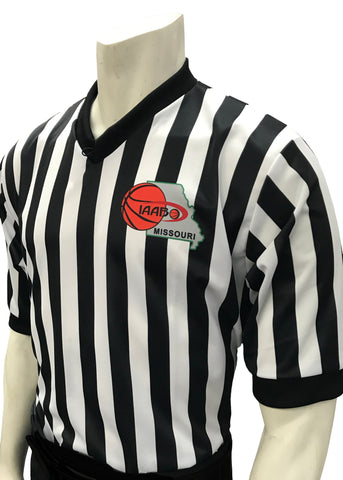 "I200 MO - Smitty ""Made in USA"" - IAABO Basketball Men's Short Sleeve Shirt"
