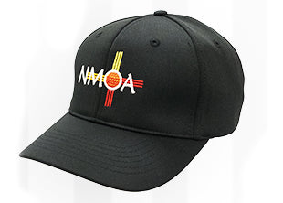 HT-304NM 4 Stitch Flex Fit Umpire Hat