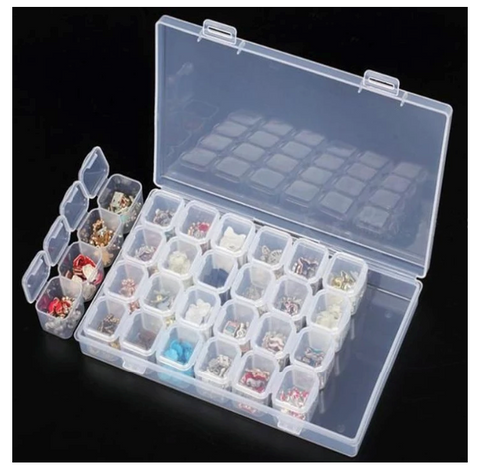 A diamond painting kit.