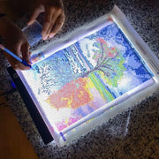 LED Diamond Painting Light Pad (Dimmable)
