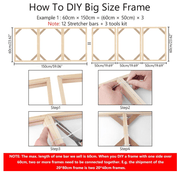 Diamond Painting DIY Wood Frame