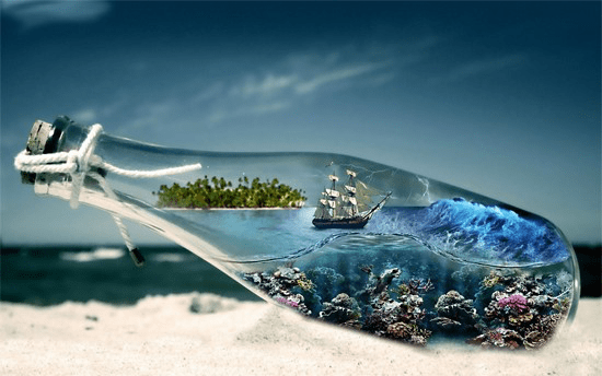 Sea in a Bottle